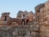 Стените на входа на стария град - Несебър