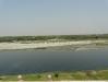 Изглед към река Ямуна - зад Тадж Махал