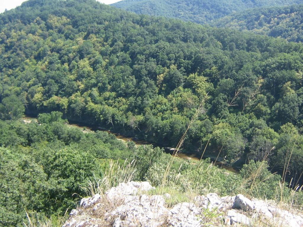 река Велека от Петрова нива