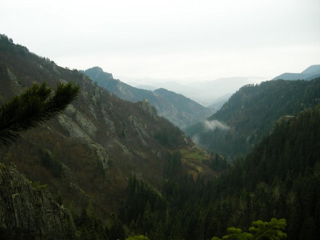 Гледка към Каньона на водопадите