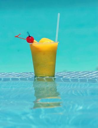 Питие в басейн - Русе