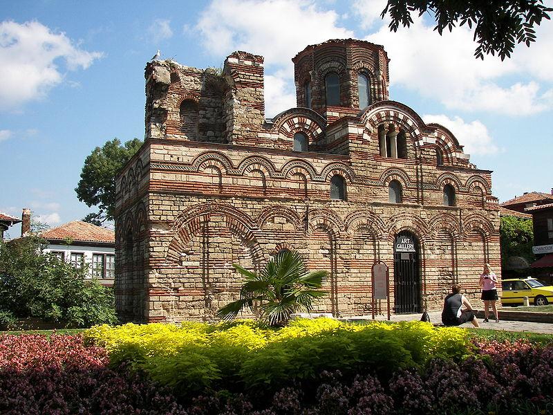 """Църквата """"Христос Пантократор"""" - 13 век"""