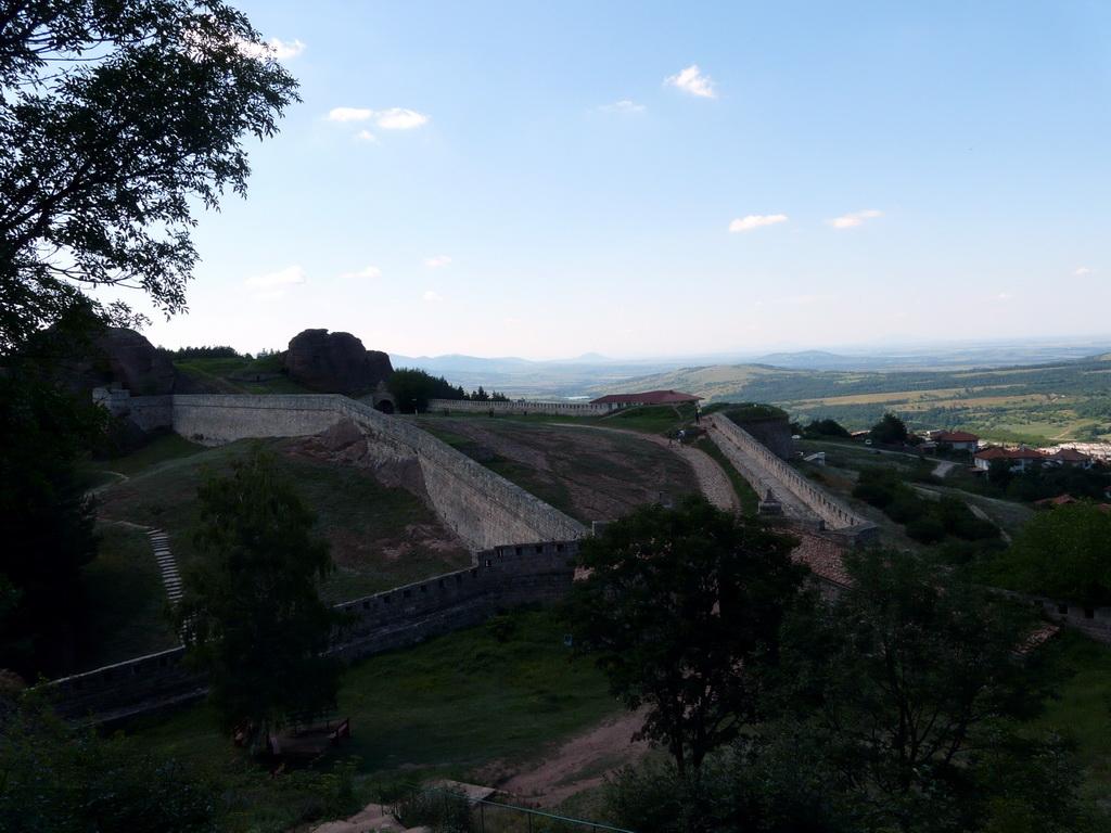 Поглед назад към крепостта