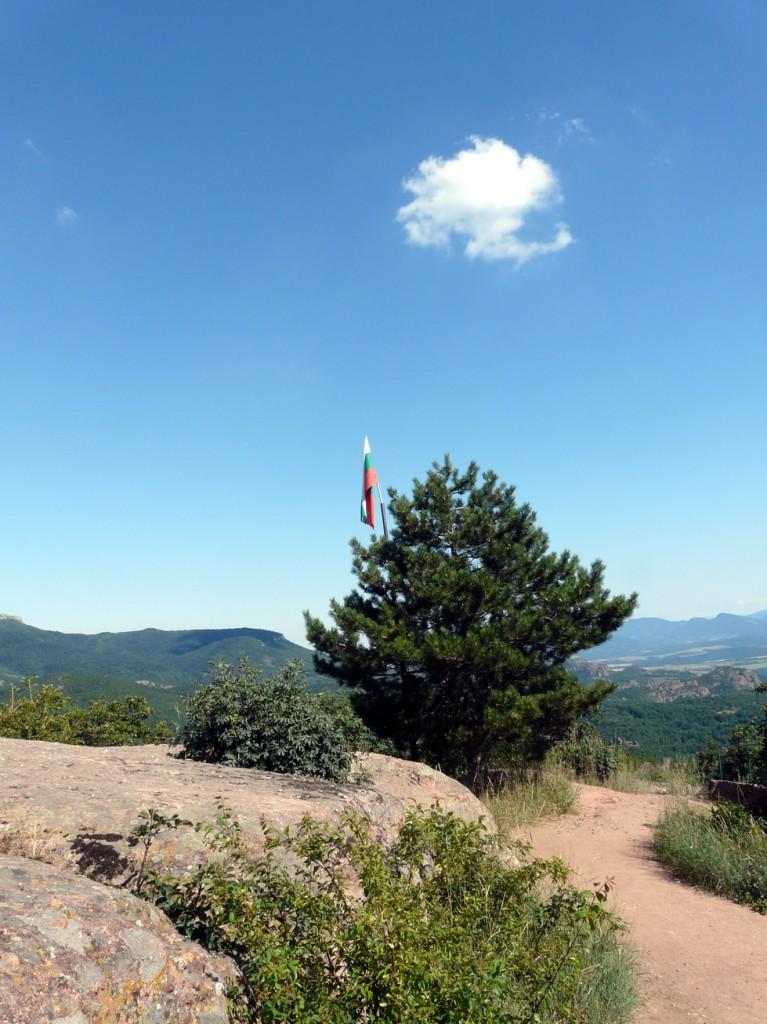 Българския флаг на върха