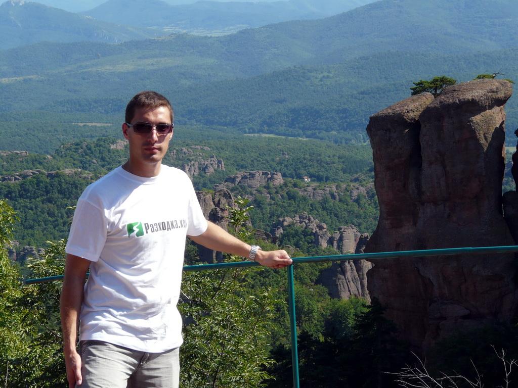 Аз и Белоградчишките скали от високо