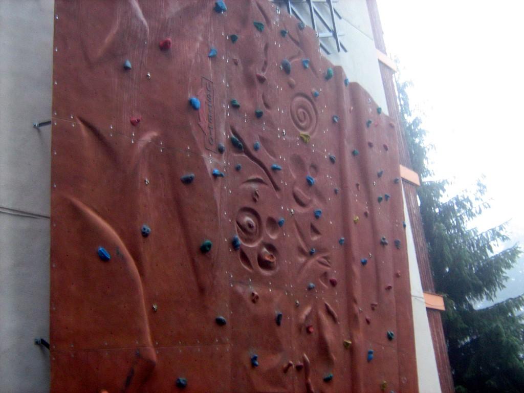 Стена за катерене - хотел Дивите петли