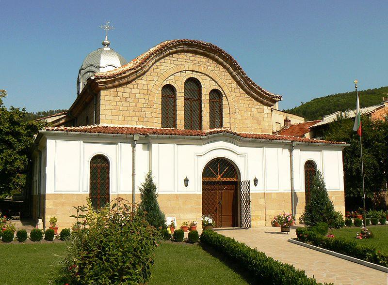 """Църквата """"Свети Йоан Предтеча"""" в Брацигово"""