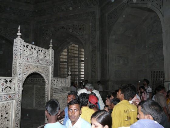 Вътре в Тадж Махал