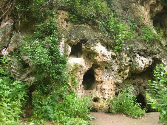 Маарата - причудливо оформени скали
