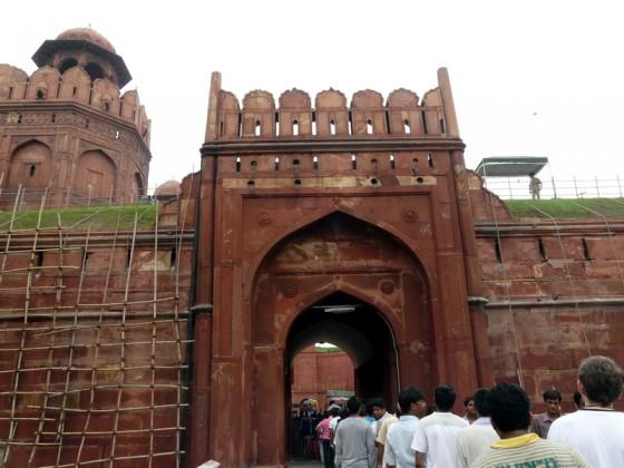 Червената крепост - Lahore gate (Лахорската порта)