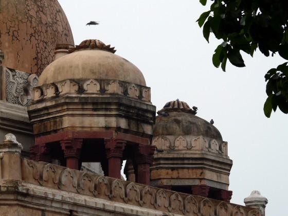 Красиви издигнати куполи, които се наричат chhajjas.