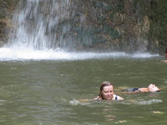 Udovolstvieto ot vodopada Momin skok