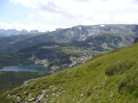 Долното и Рибното езеро