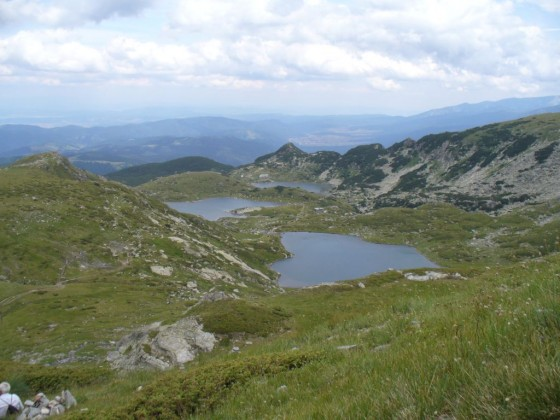 Долното, Рибното езеро и Трилисника