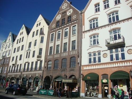 Прочутите фасади на Бриген