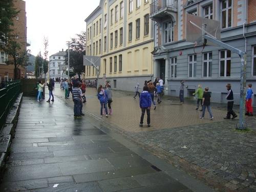 Игрище на улицата