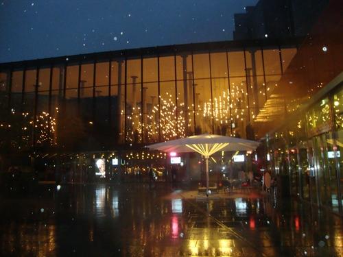 Концертната зала 'Едвард Григ' нощем