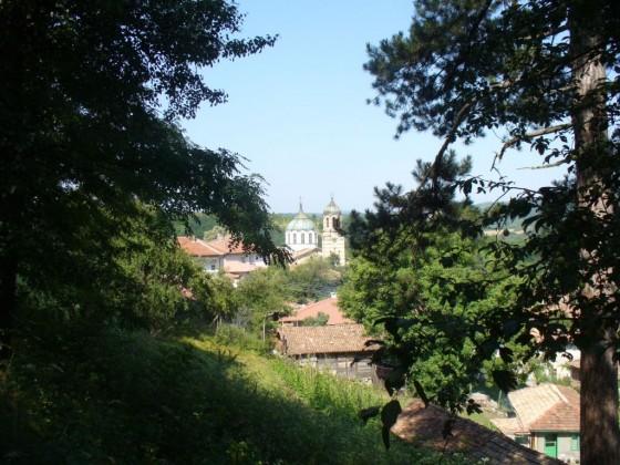 Gledka ot park Kaleto kum curkvata
