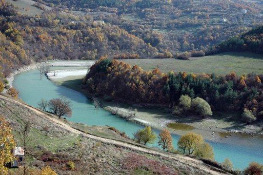 Река Въча (малко преди Михалково)
