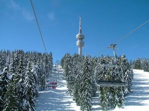 Ски писта в курорта Пампорово