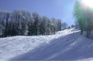 Ски писта в Узана