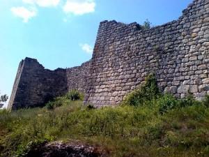 Крепостта Червен - източна стена