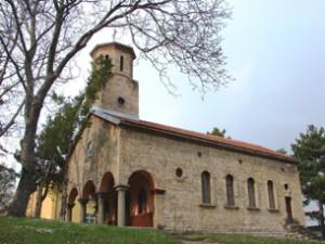 църквата в селото