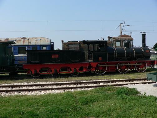Локомотив от музея на транспорта