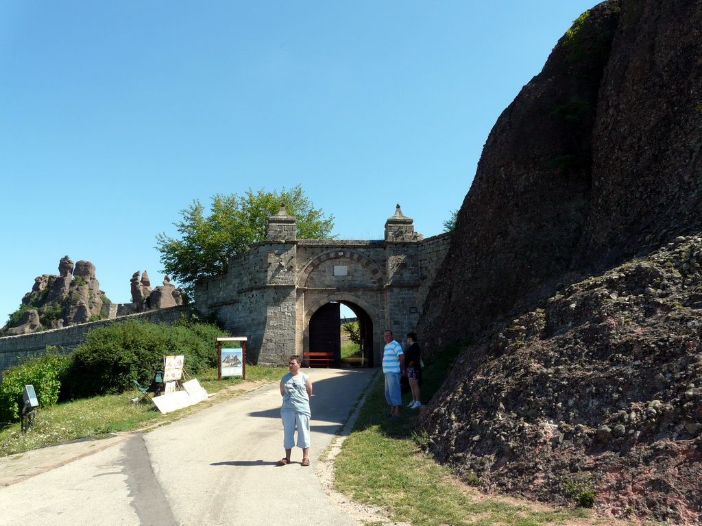 Пред крепостта Калето - Белоградчик