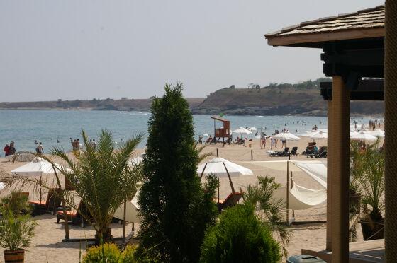Суши бар на плажа Оазис
