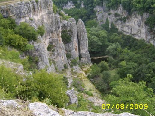 Пресъхналият водопад