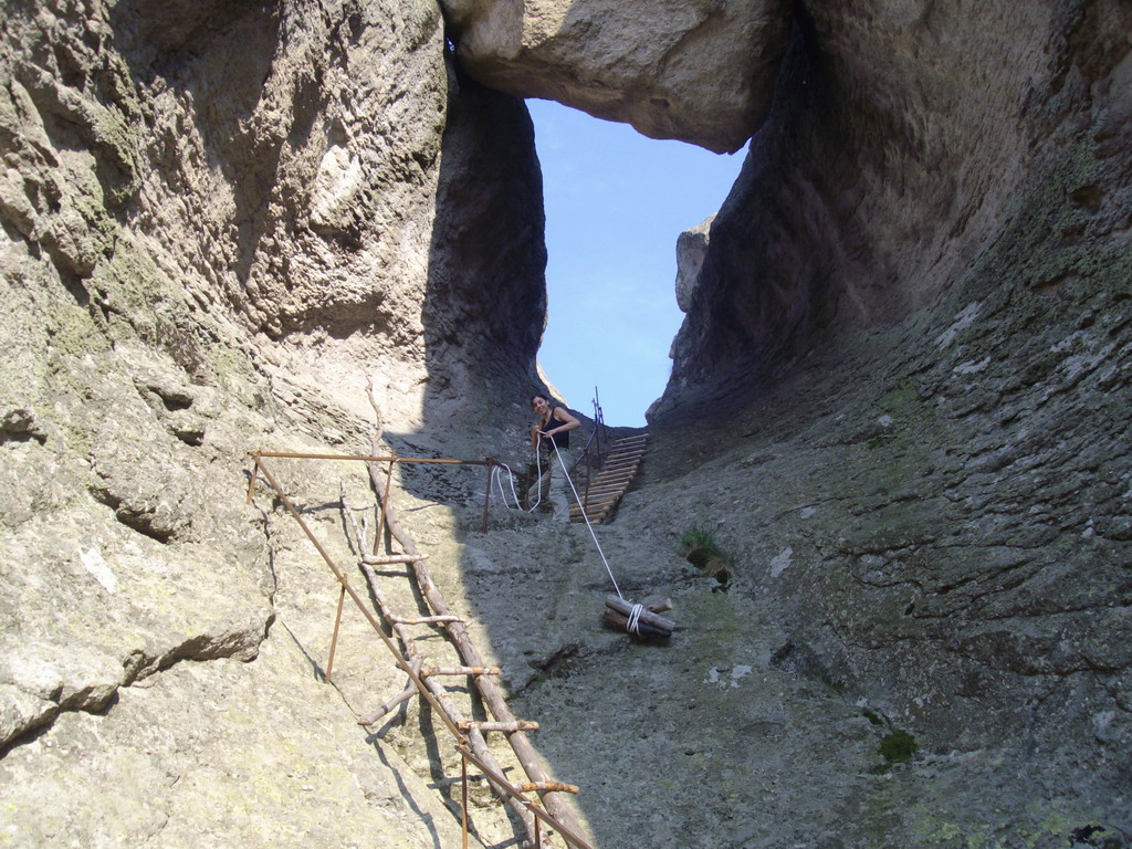 Караджов камък - изкачване