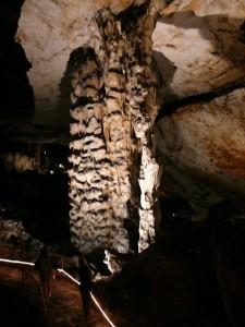 Големият сталактон - Магурата