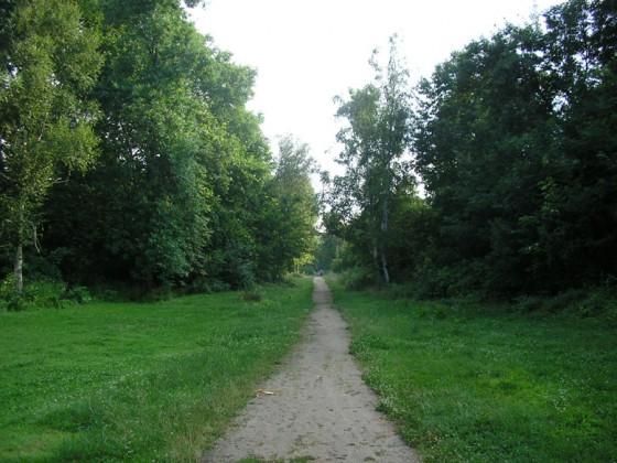 Спокойният парк в Баня