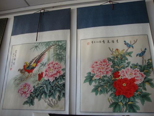 Китайска традиционна живопис 'цветя - и - птици'