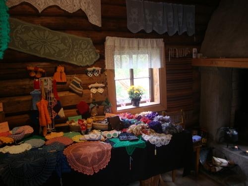 Традиционни норвежки плетива в старата къща