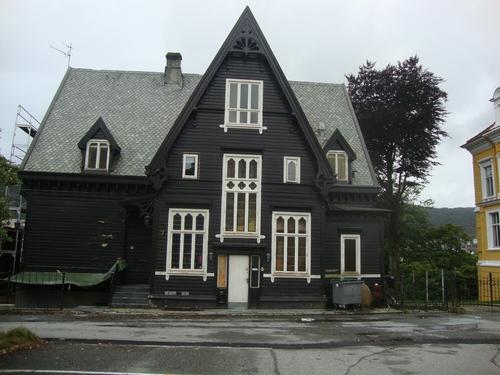 Характерна норвежка къща